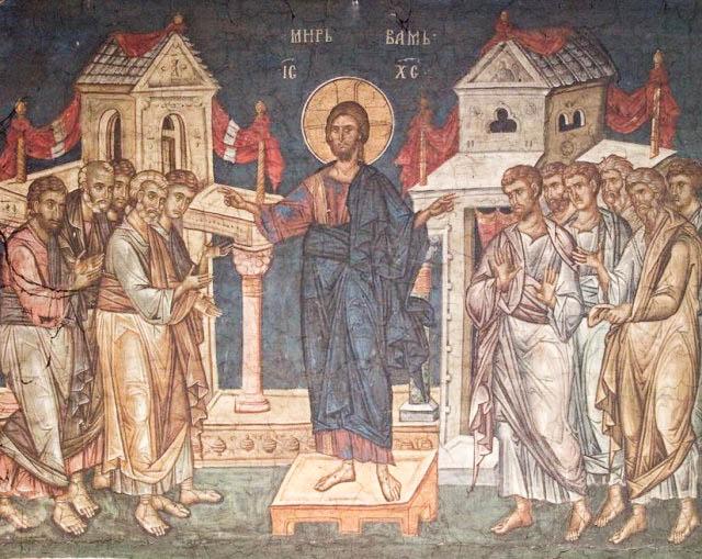 0040 Emfanisi Xristou stous Apostolous meta tin Anastasi